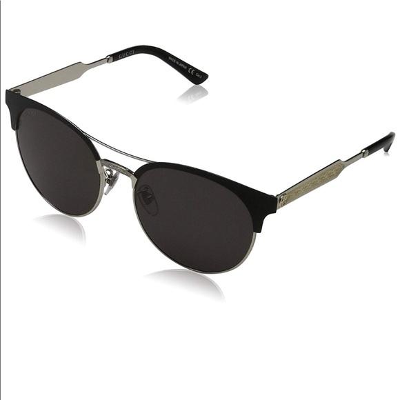 3d56fef651897 NWT Authentic Unisex Gucci Round Sunglasses